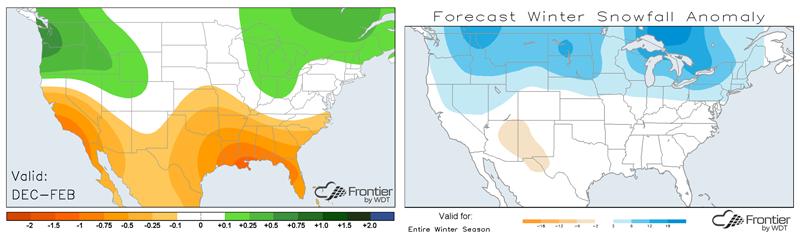 Precip Forecast and Snowfall Forecast