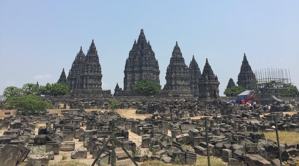 UNESCO World Heritage Site, Prambanan Temple.