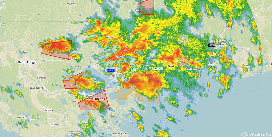 Radar 12:10pm CST 2/7/17