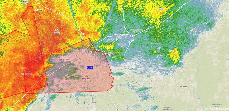 Radar 2:00pm EDT 4/5/17