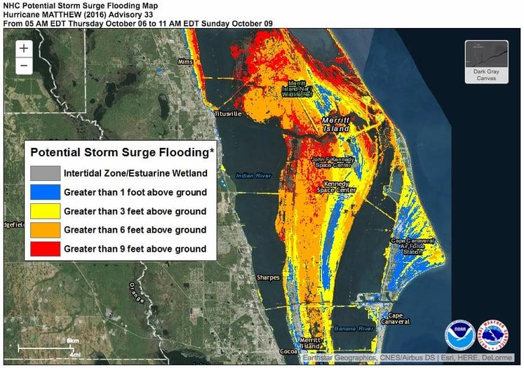 Storm Surge Potential