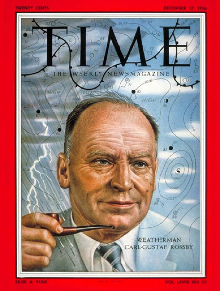 Rossby on Time Magazine Cover