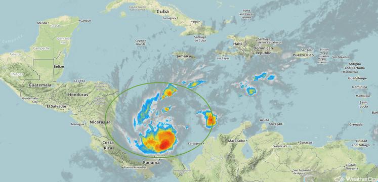 Tropical Enhanced Infrared Satellite Tuesday, November 22, 2016