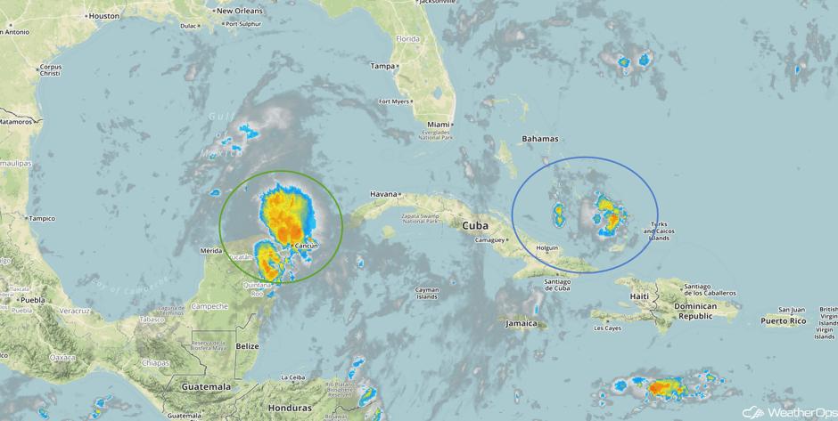 Tropical Enhanced Infrared Satellite 8/22/17