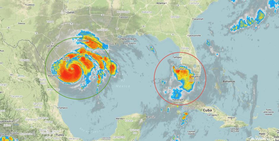 Tropical Enhanced Infrared Satellite 8/25/17