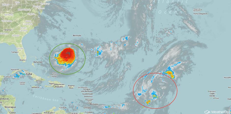 Enhanced Infrared Tropical Satellite 9/12/17