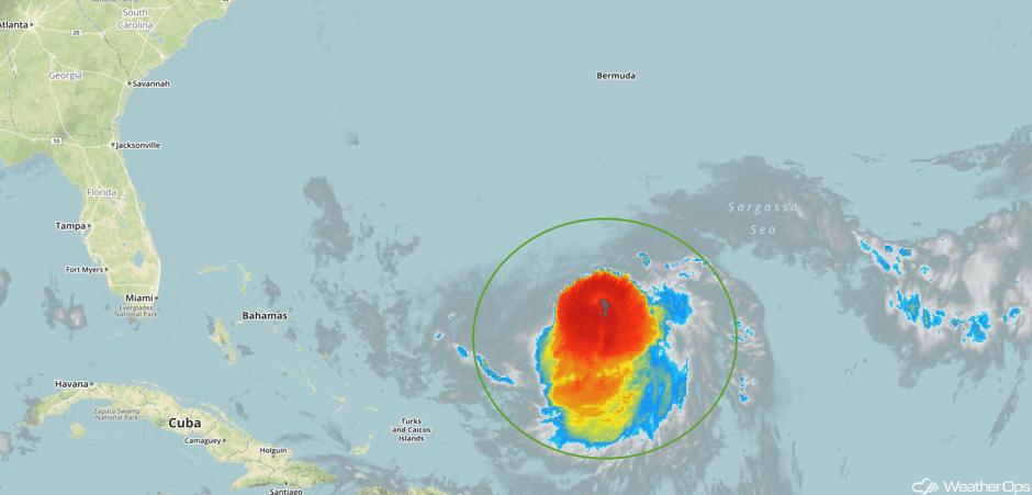 Enhanced Infrared Tropical Satellite 9/13/17