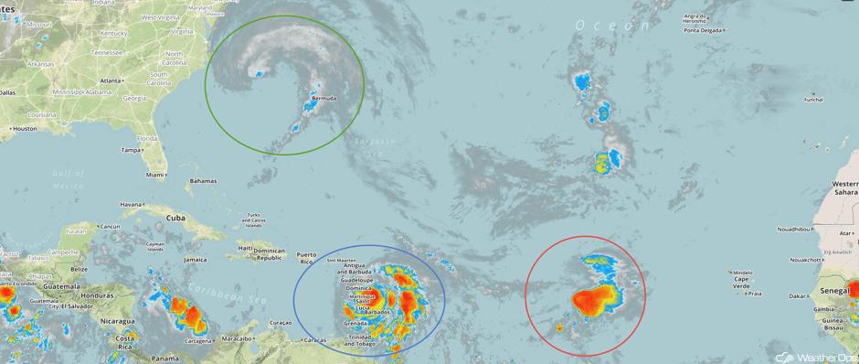 Enhanced Infrared Tropical Satellite 9/18/17