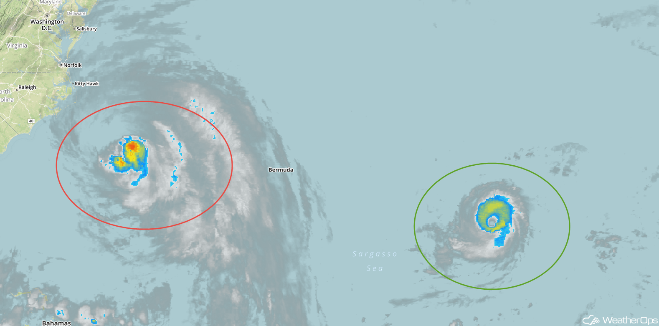 Enhanced Infrared Tropical Satellite 9/26/17