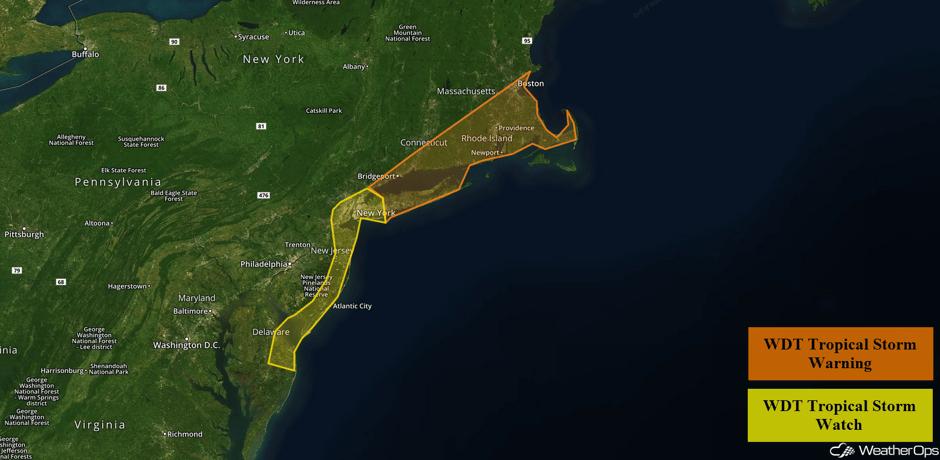 Tropical Storm Advisories 9/19/17