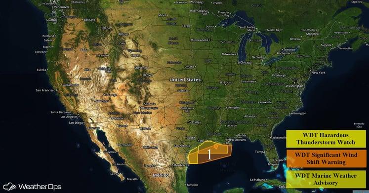 US Hazards Monday, May 2, 2016