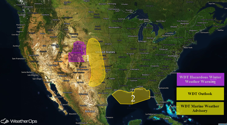 US Hazards for Friday, April 15, 2016