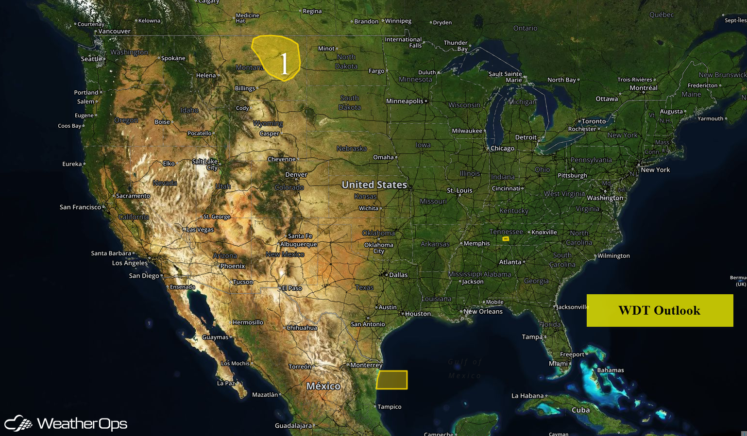 US Hazards for Tuesday, May 10, 2016