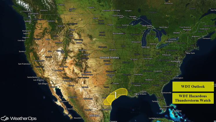 US Hazards for Thursday, May 19, 2016