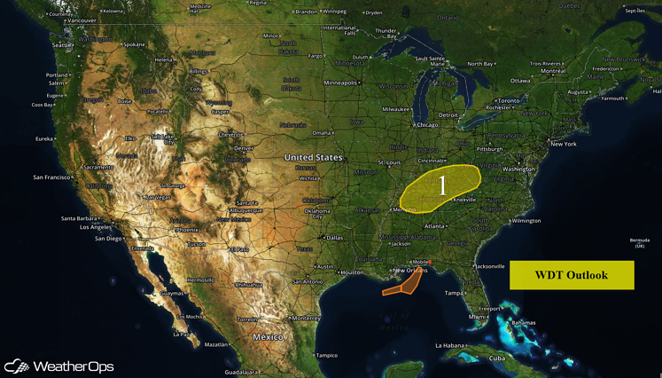 US Hazards for Friday, May 20, 2016
