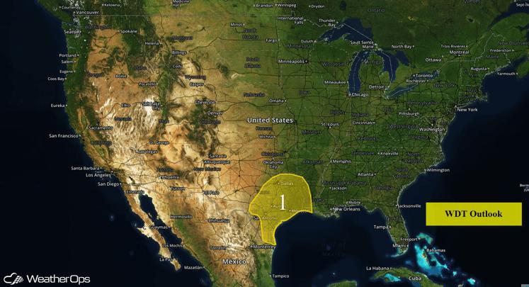 US Hazards for Thursday, June 2, 2016
