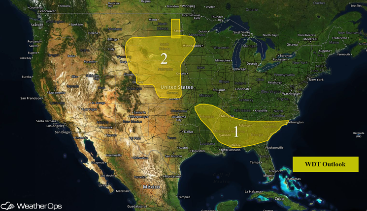 US Hazards for Friday, June 17, 2016