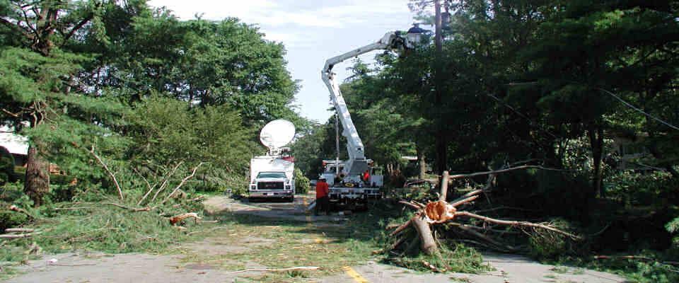 Utilities Repair Power After Severe Weather