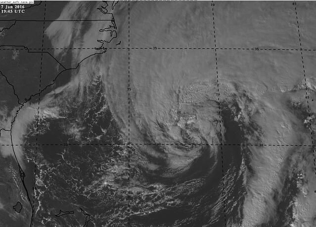 Visible satellite from earlier today at 3:45 PM EST