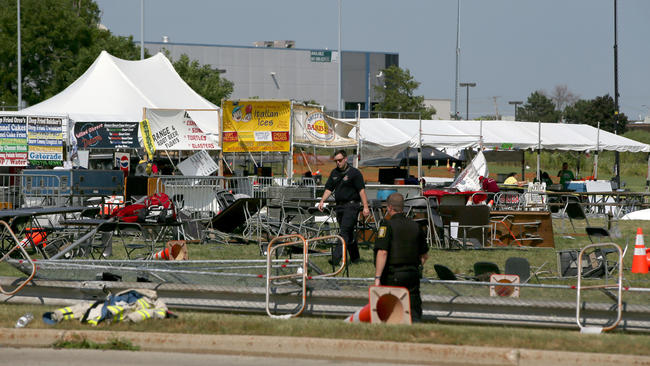 Wood Dale Tent Collapse Due to Wind