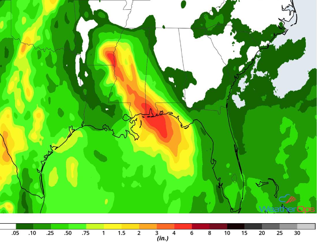 Gordon Rainfall