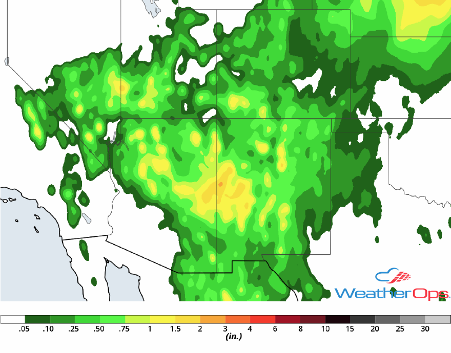 Rainfall Accumulation for July 12-14, 2018