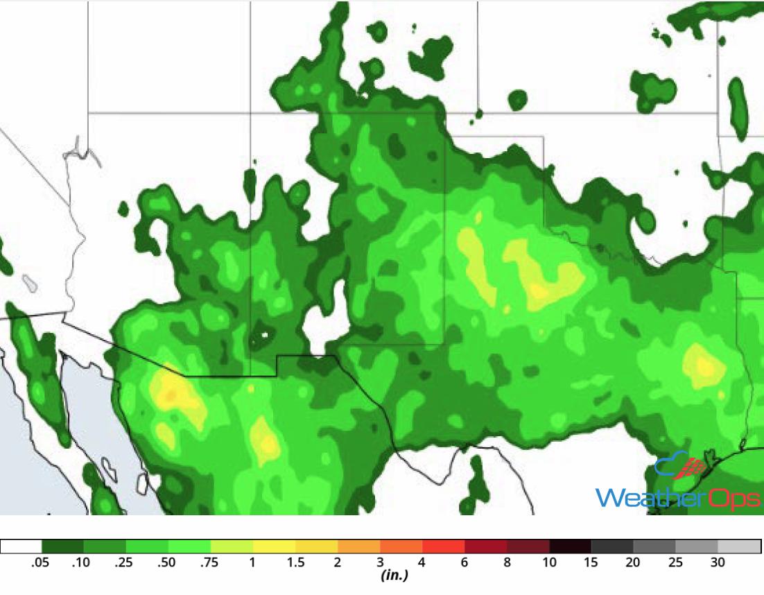 Rainfall Accumulation for August 9-10, 2018