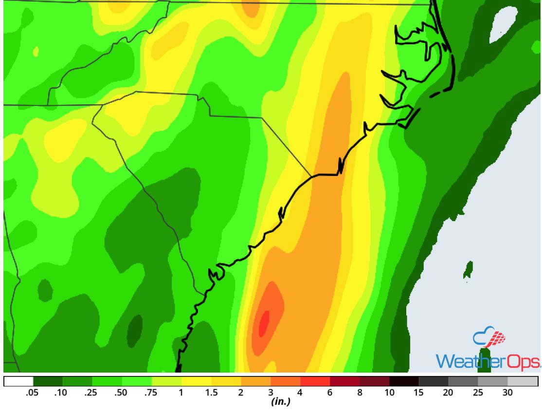 Rainfall Accumulation May 18-19, 2018