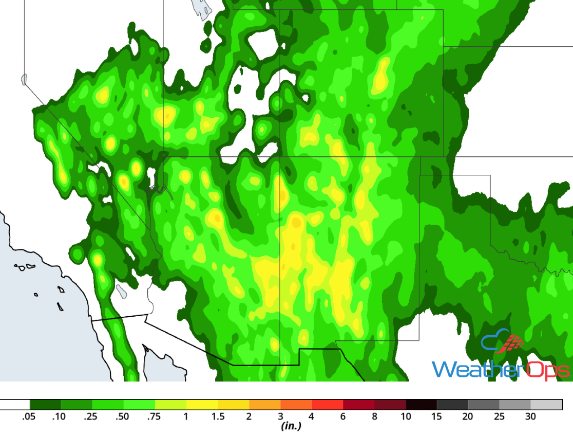Rainfall Accumulation July 11-13, 2018