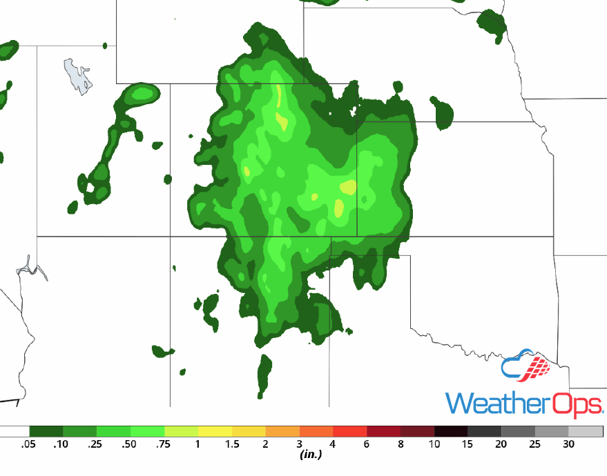 Rainfall Accumulation for July 23-24, 2018