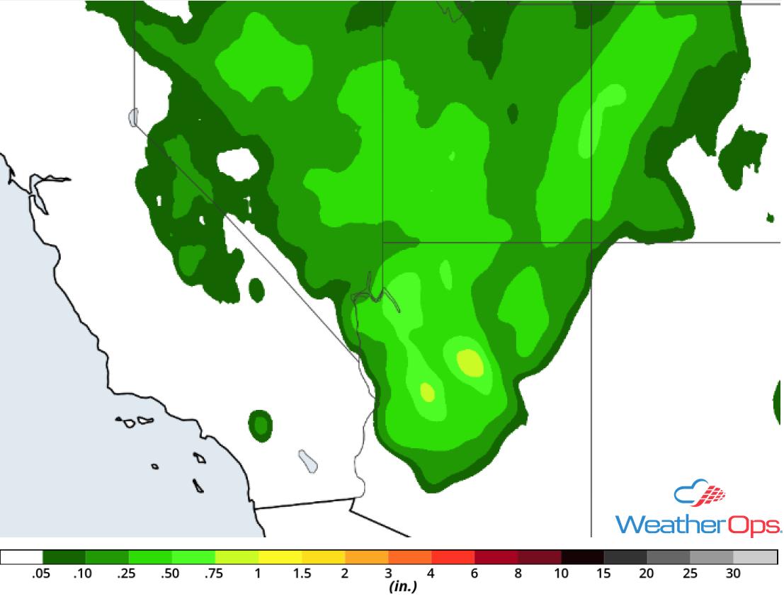 Rainfall Accumulation for Saturday, October 6, 2018