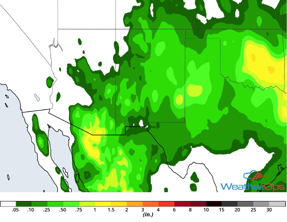 Rainfall Accumulation August 8-10, 2018