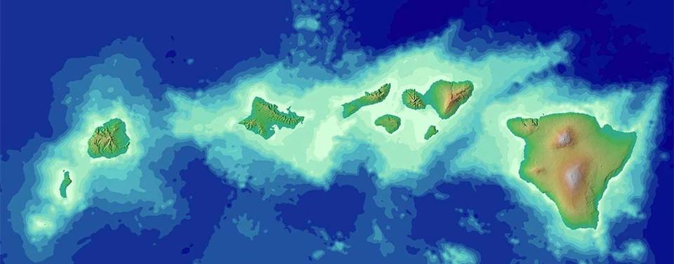Topography of Hawaii