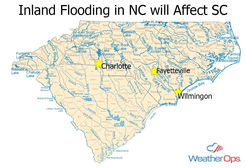 Rivers in the Carolinas