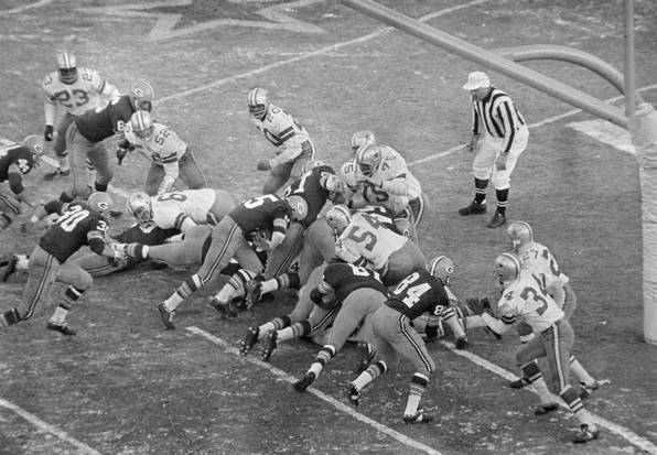 1967 Ice Bowl Game