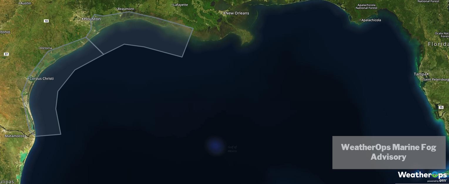 WeatherOps Marine Fog Advisory 2/25/19