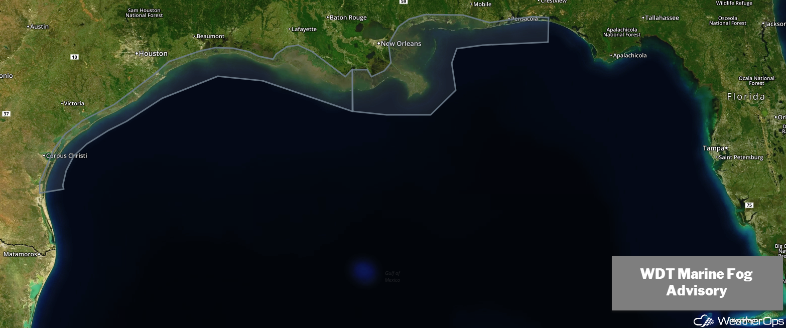 WDT Marine Fog Advisory 2/6/19