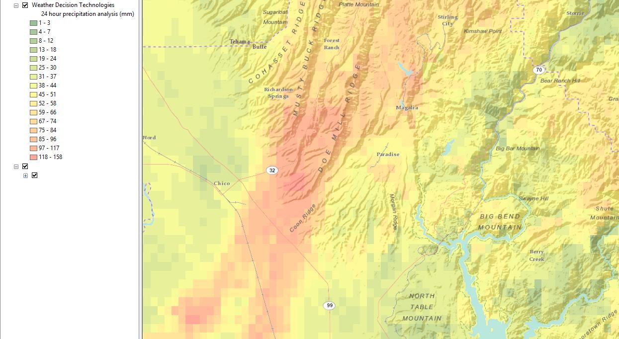 WeatherOps GIS Map