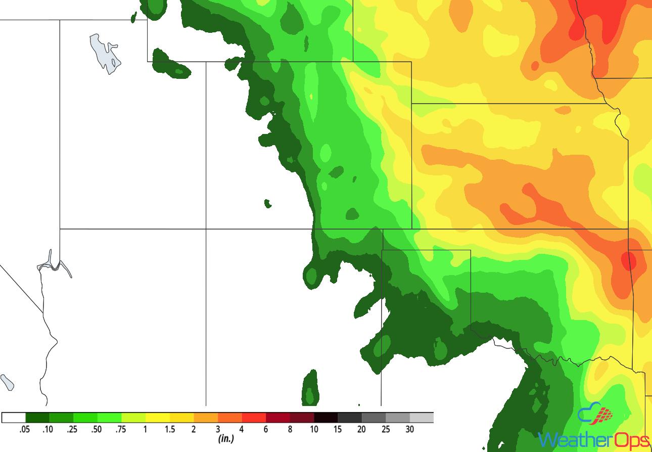 Rainfall Forecast ending June 27