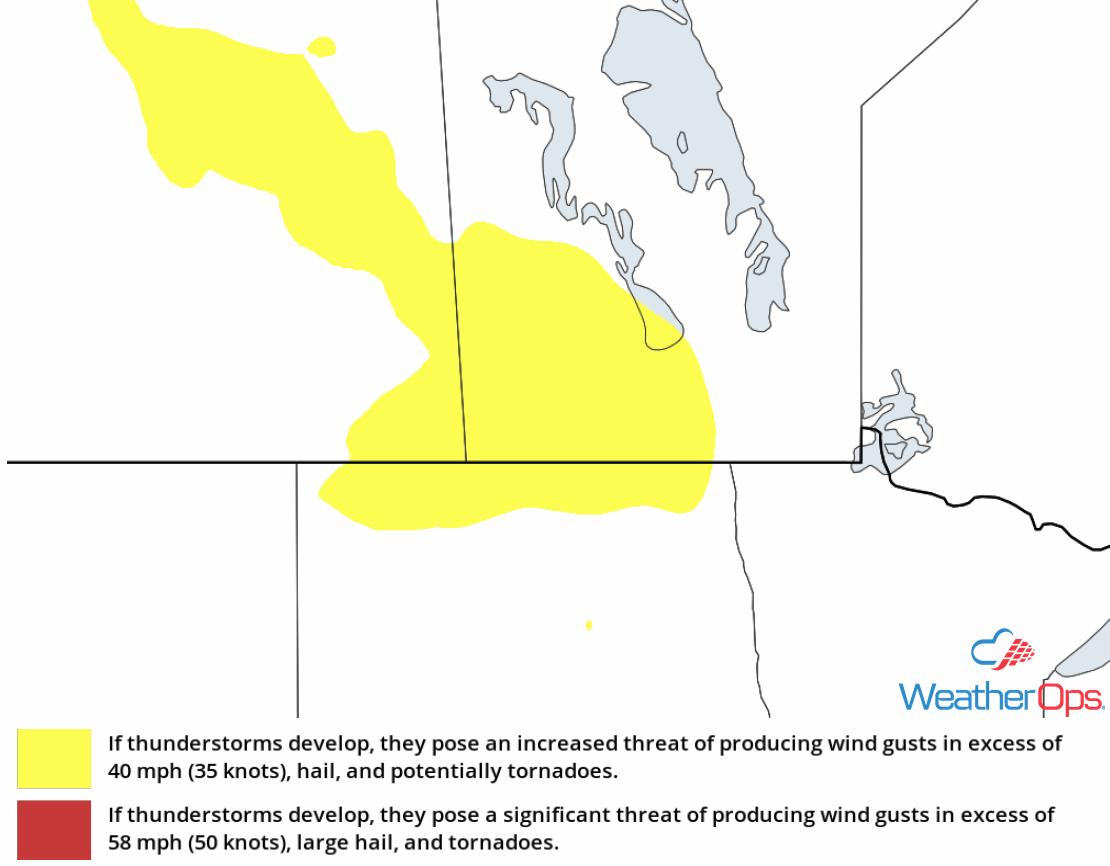 Thunderstorm Risk for Friday, September 7, 2018