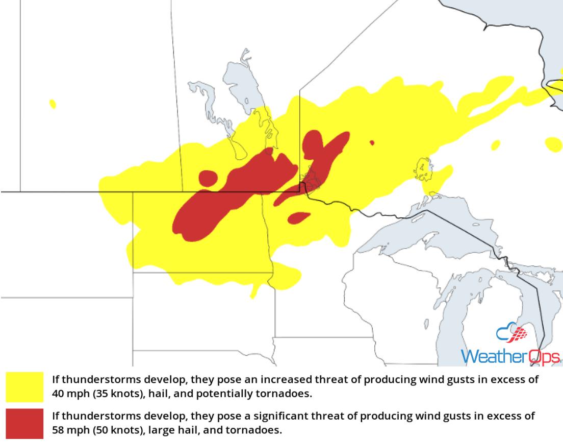 Thunderstorm Risk for September 11-12, 2018