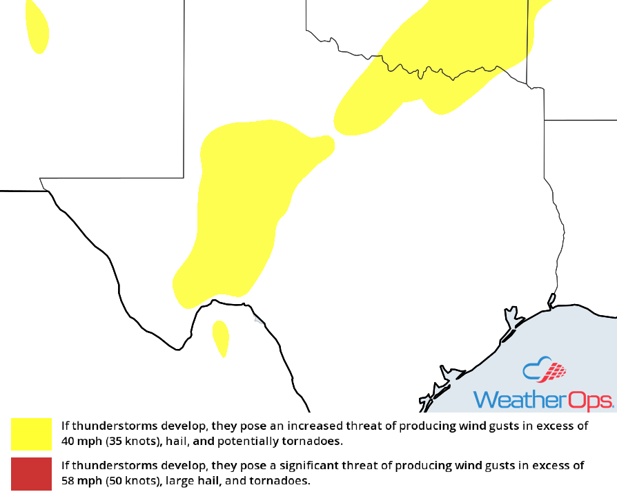 Thunderstorm Risk for Tuesday, October 30, 2018