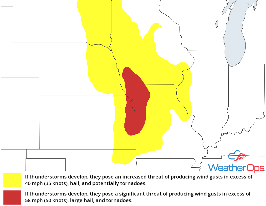 Thunderstorm Risk for Tuesday, May 8, 2018