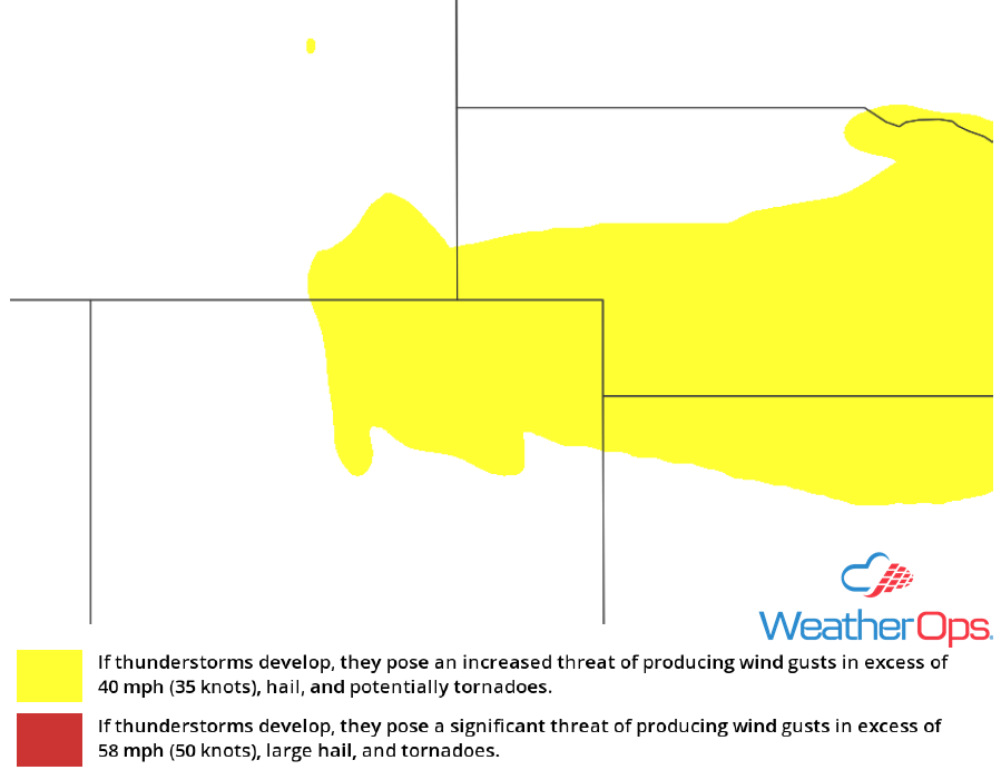Thunderstorm Risk for Friday, May 11, 2018