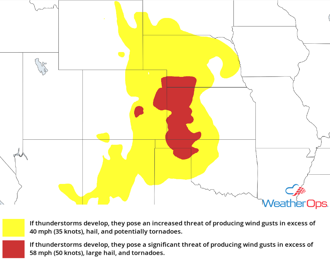 Thunderstorm Risk for Friday, July 27, 2018