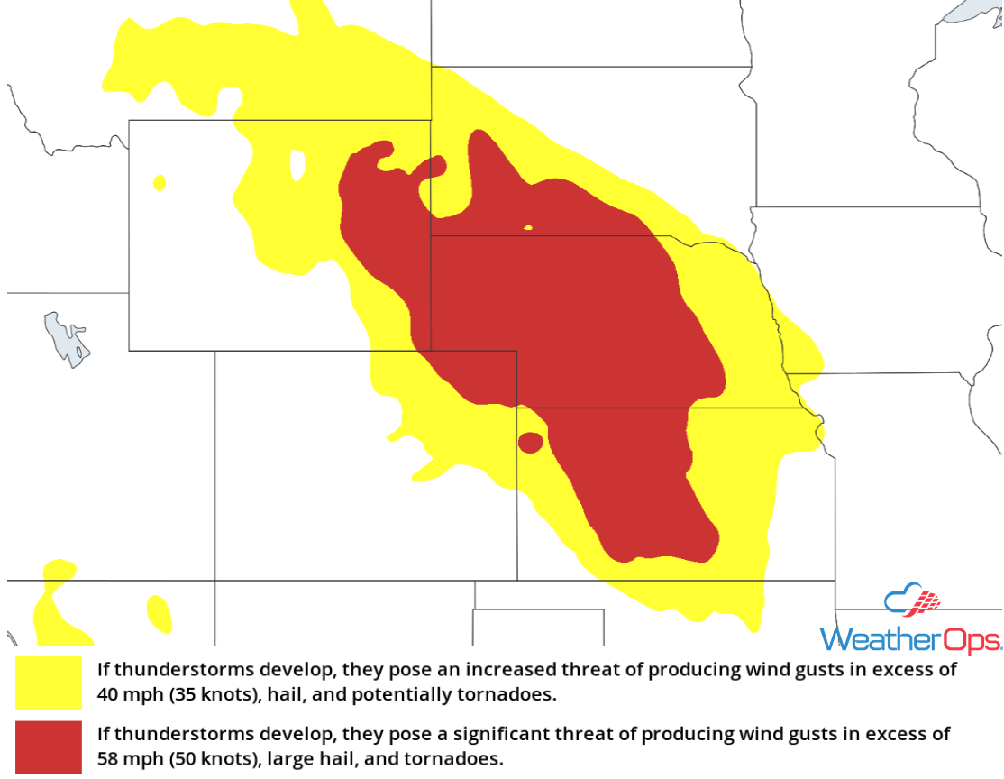 Thunderstorm Risk for Tuesday, July 17, 2018