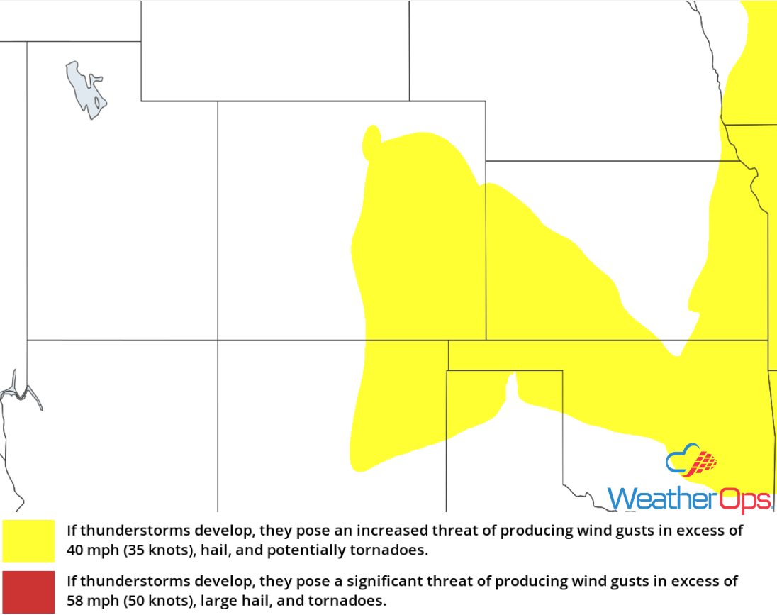 Thunderstorm Risk for Tuesday, August 7, 2018