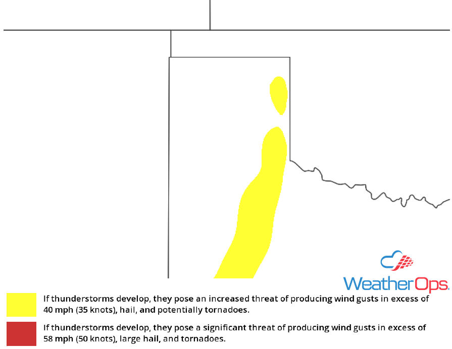 Thunderstorm Risk for May 11-12, 2018