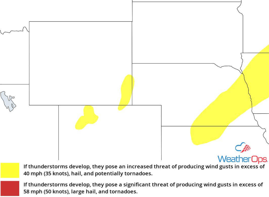 Thunderstorm Risk for Monday, September 24, 2018