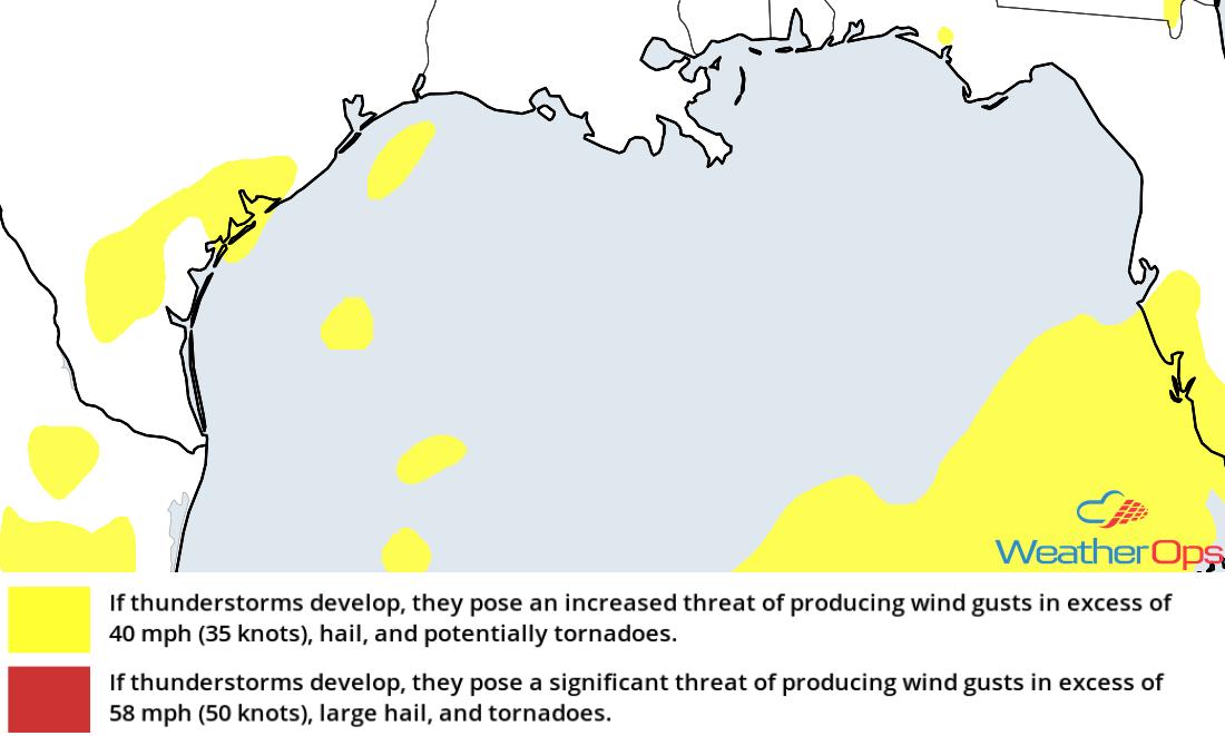 Thunderstorm Risk for Thursday, September 29, 2018